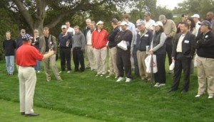 eric jones golf exhibition at Stanford