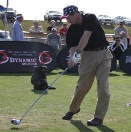 Eric Jones, Players Tour Long Drive Champion Impact Shot