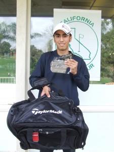 Golfer Gabriel M